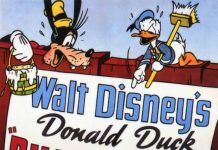 Affiche Poster colleurs affiches billposters disney donald
