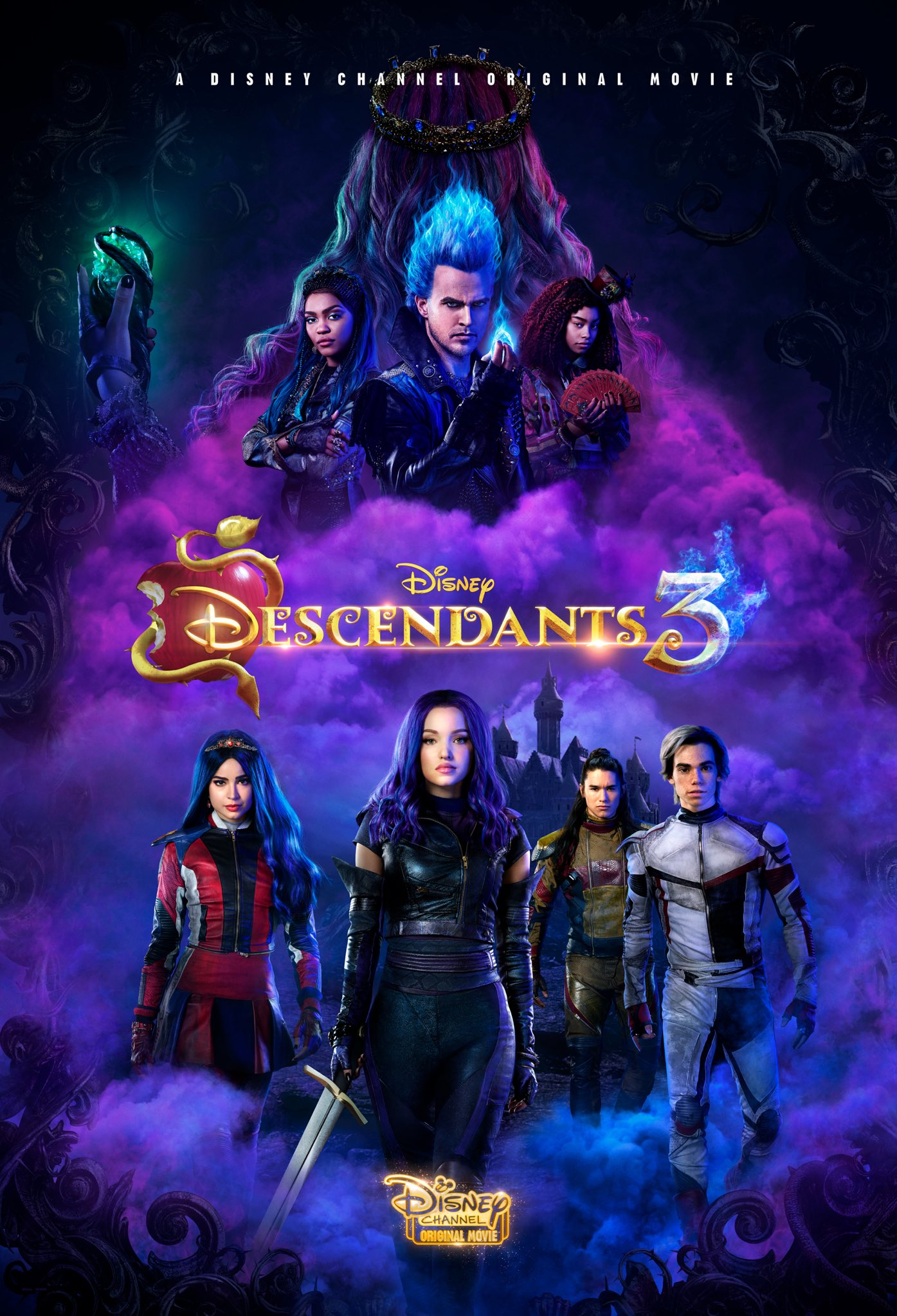Affiche poster descendants 3 disney channel