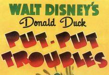 Affiche Poster donald ennuis put trouble disney