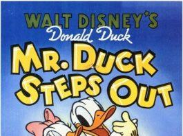 Affiche Poster entreprenant monsieur duck steps out disney donald