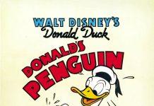 Affiche Poster pingouin penguin donald disney