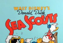 Affiche Poster scouts marins sea disney donald