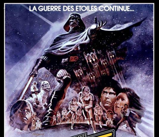 Affiche Poster star wars empire contre attaque strickes back disney lucasfilm