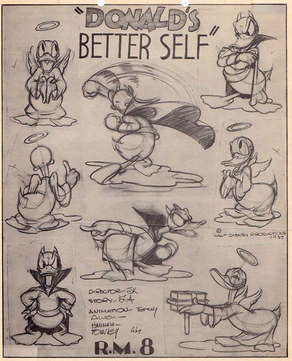 Artwork ange gardien better self donald disney