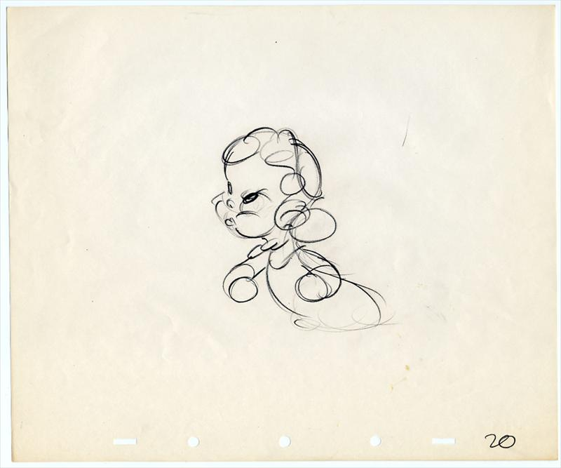 Artwork chasseur hound autographe disney donald