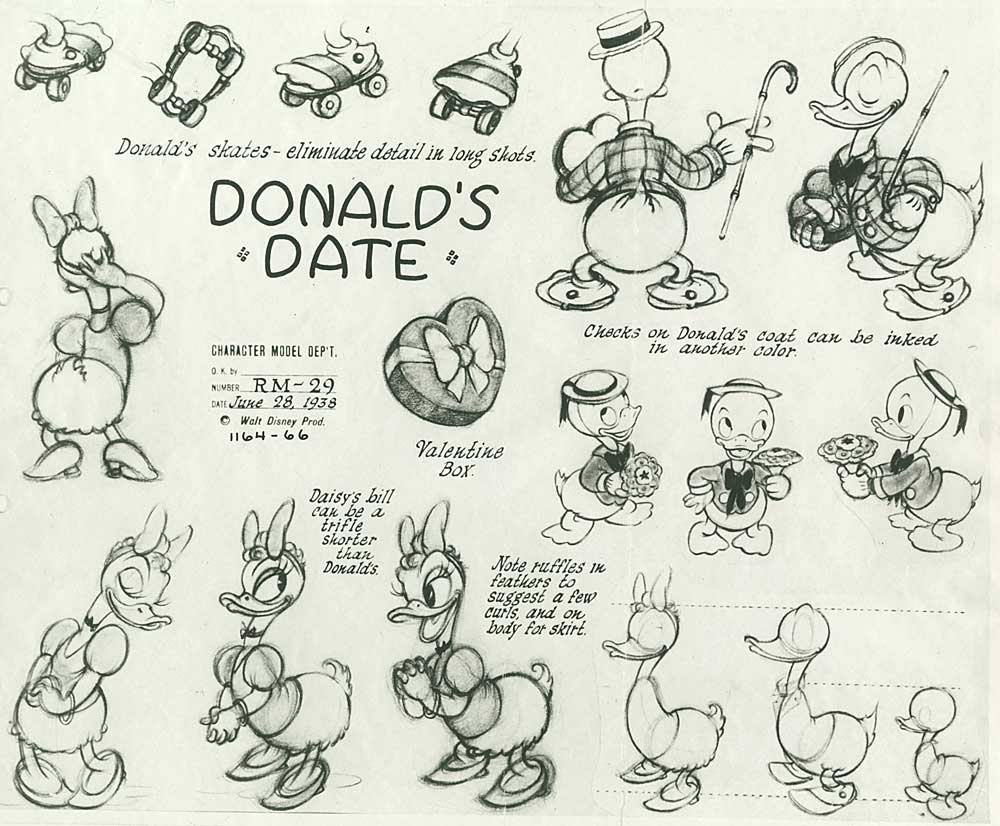 artwork entreprenant monsieur duck steps out disney donald