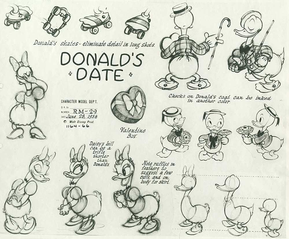 artwork entreprenant monsieur duck steps out disney donald
