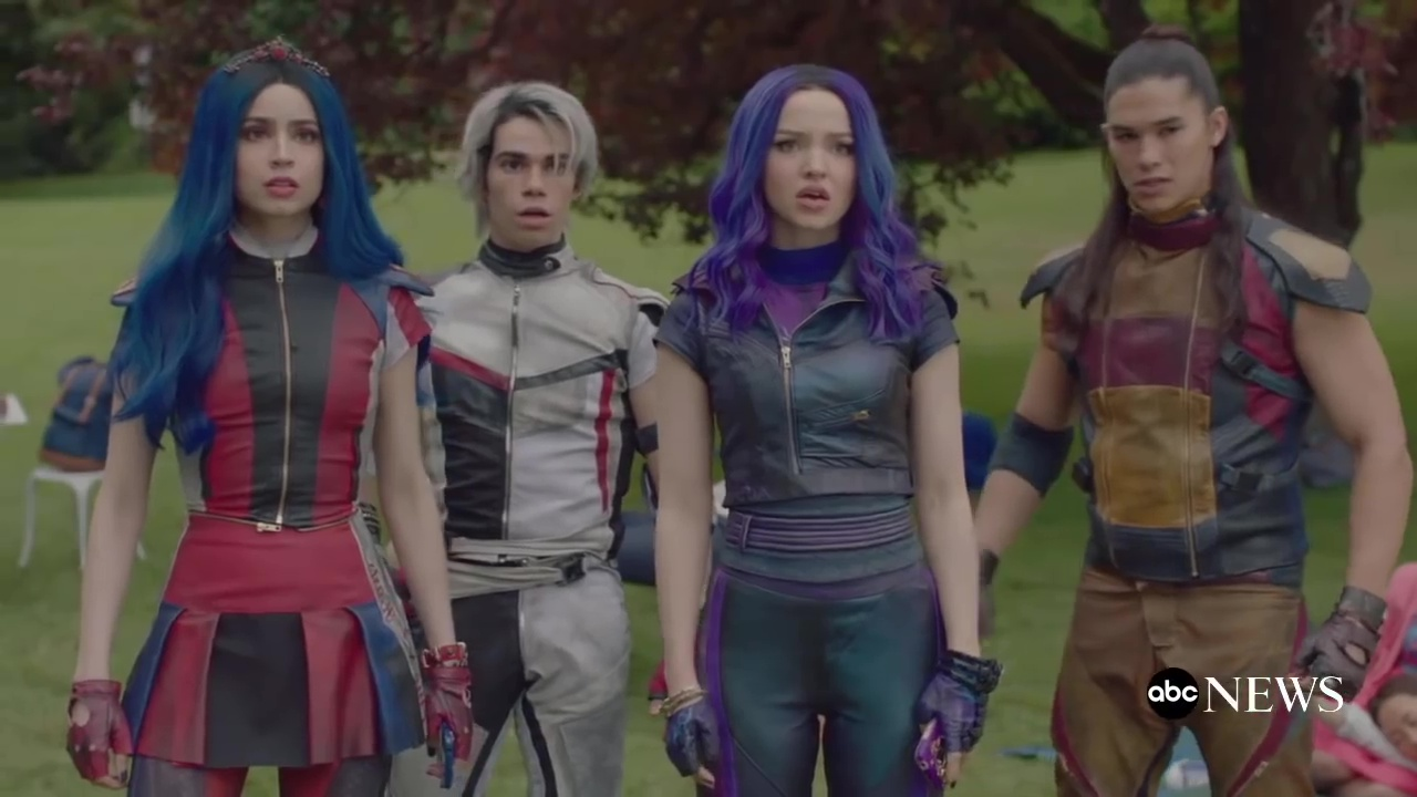 capture descendants 3 disney channel