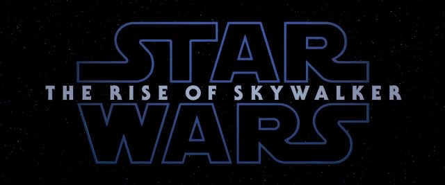 logo star wars rise skywalker disney lucasfilm