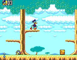 deep duck trouble starring donald duck jeu video game disney