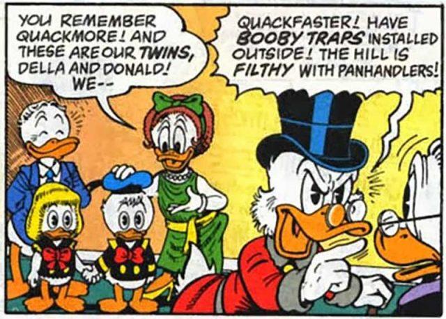 della duck donald disney