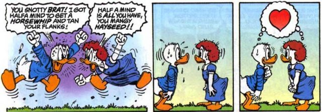 hortense rodolphe duck donald disney