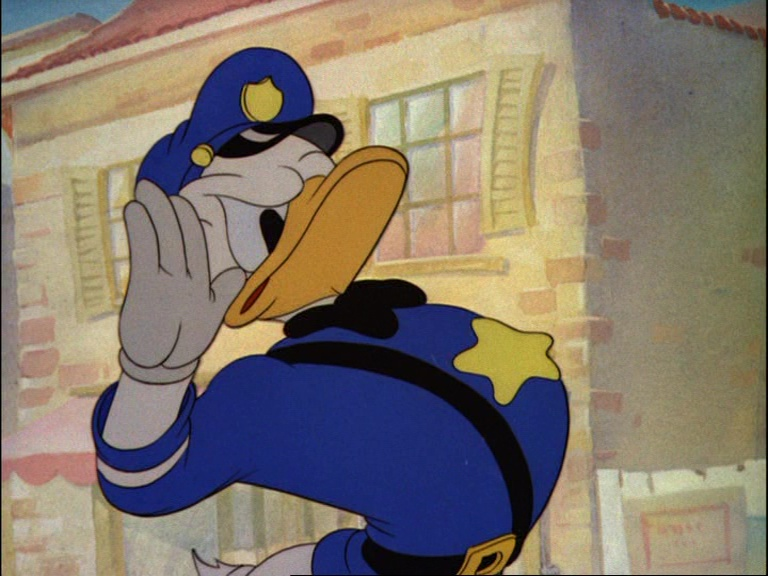 Image agent canard officer duck donald disney