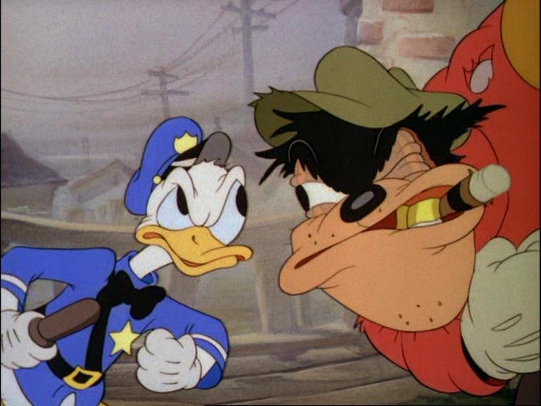 Image agent canard officer duck donald disney