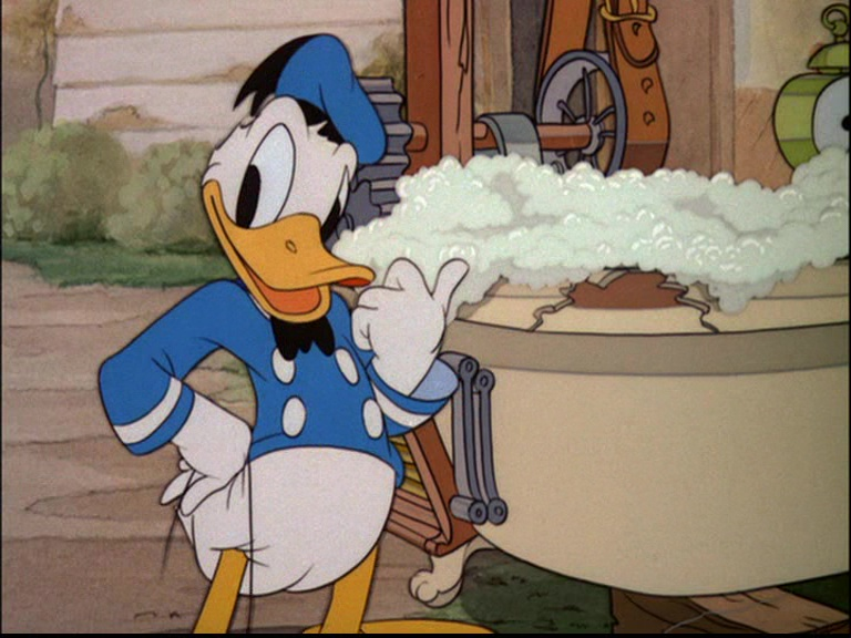 image blanchisserie Donald Dog Laundry disney