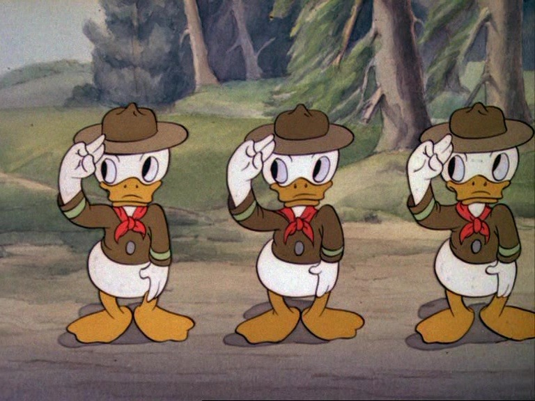 Image bons scouts good donald disney