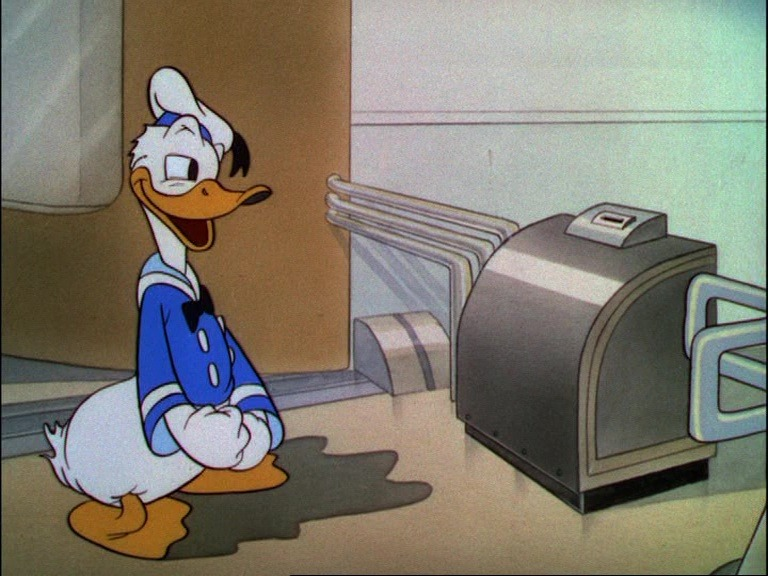 Image inventions modernes disney donald