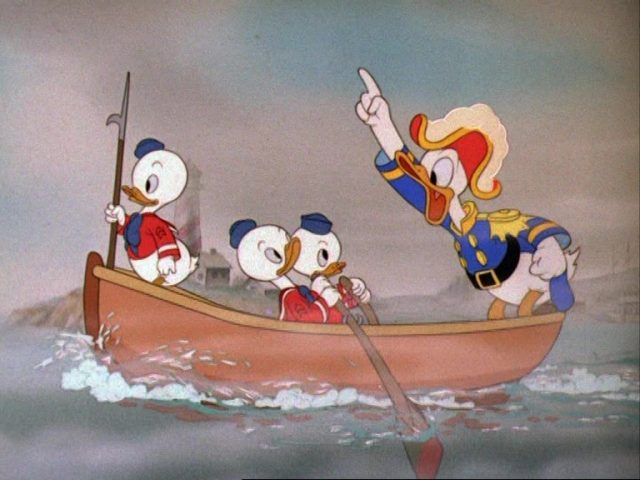 image scouts marins sea disney donald