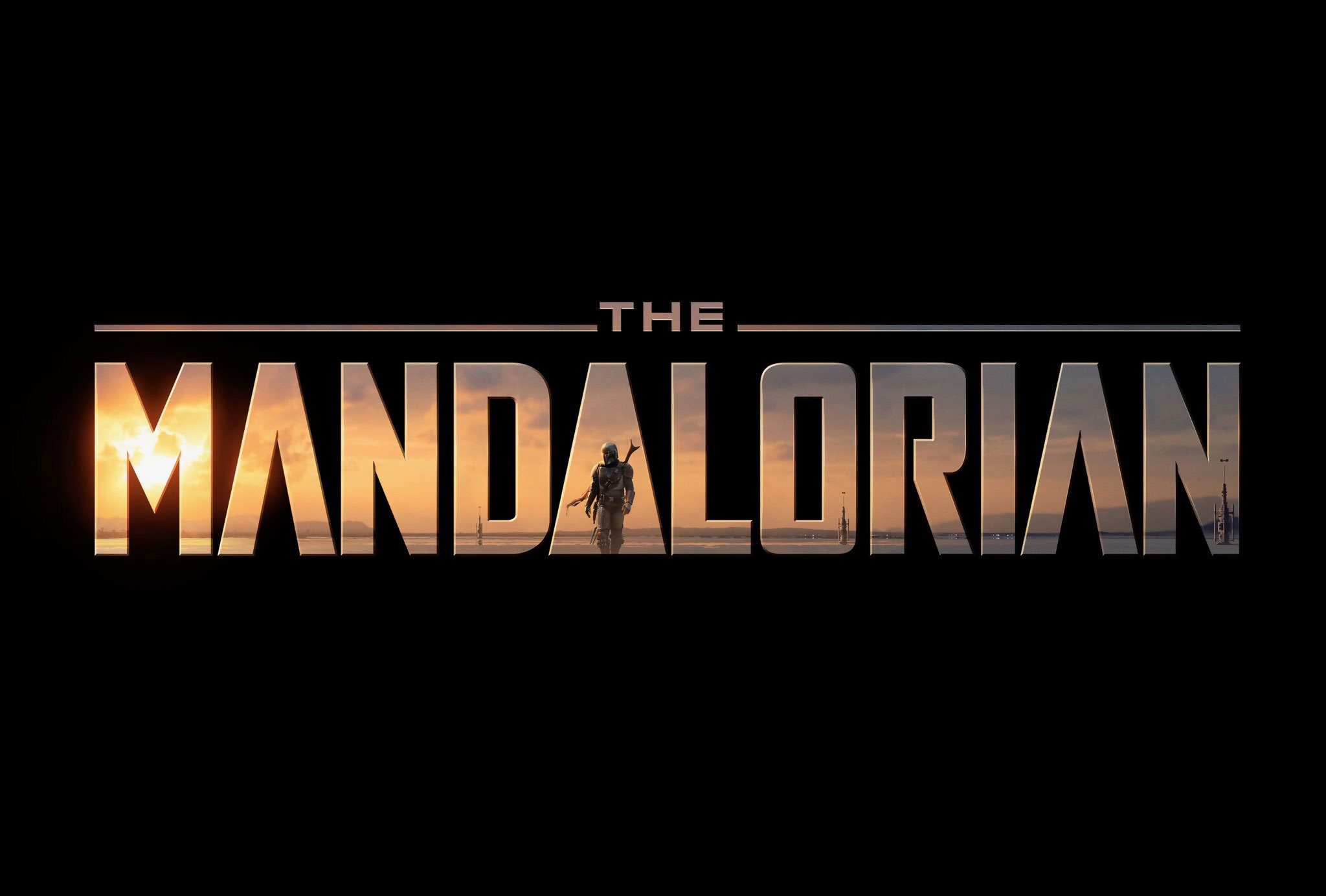 logo mandolorian star wars disney lucasfilm
