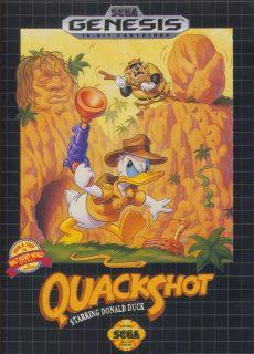 quackshot starring donald duck jeu vidéo game disney