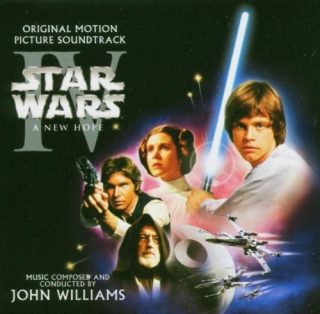 Bande originale soundtrack ost score star wars new hope guerre étoile disney lucasfilm
