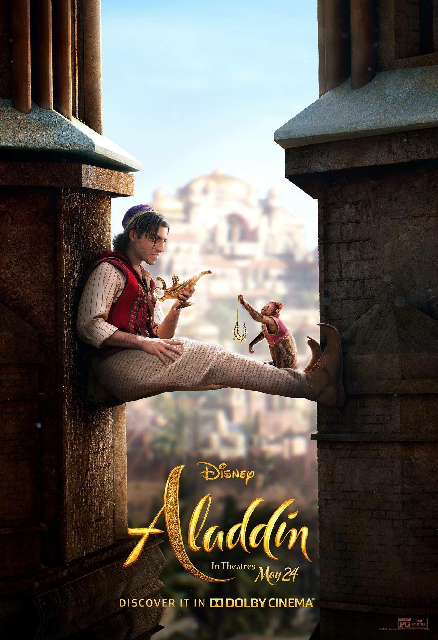 Affiche Poster aladdin disney film