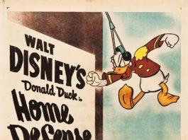 Affiche Poster attaque home defense donald disney