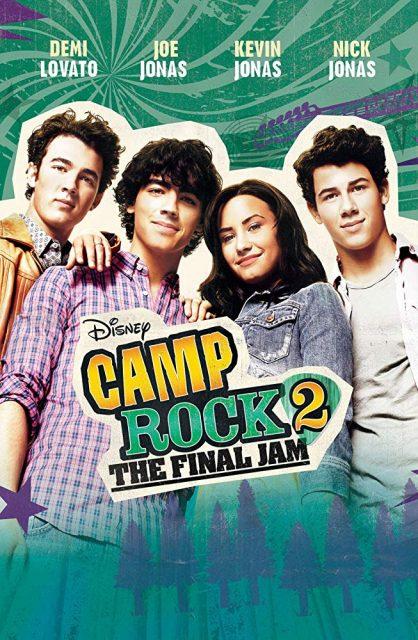 affiche poster camp rock 2 le face à face final jam film Disney Channel Original Movie