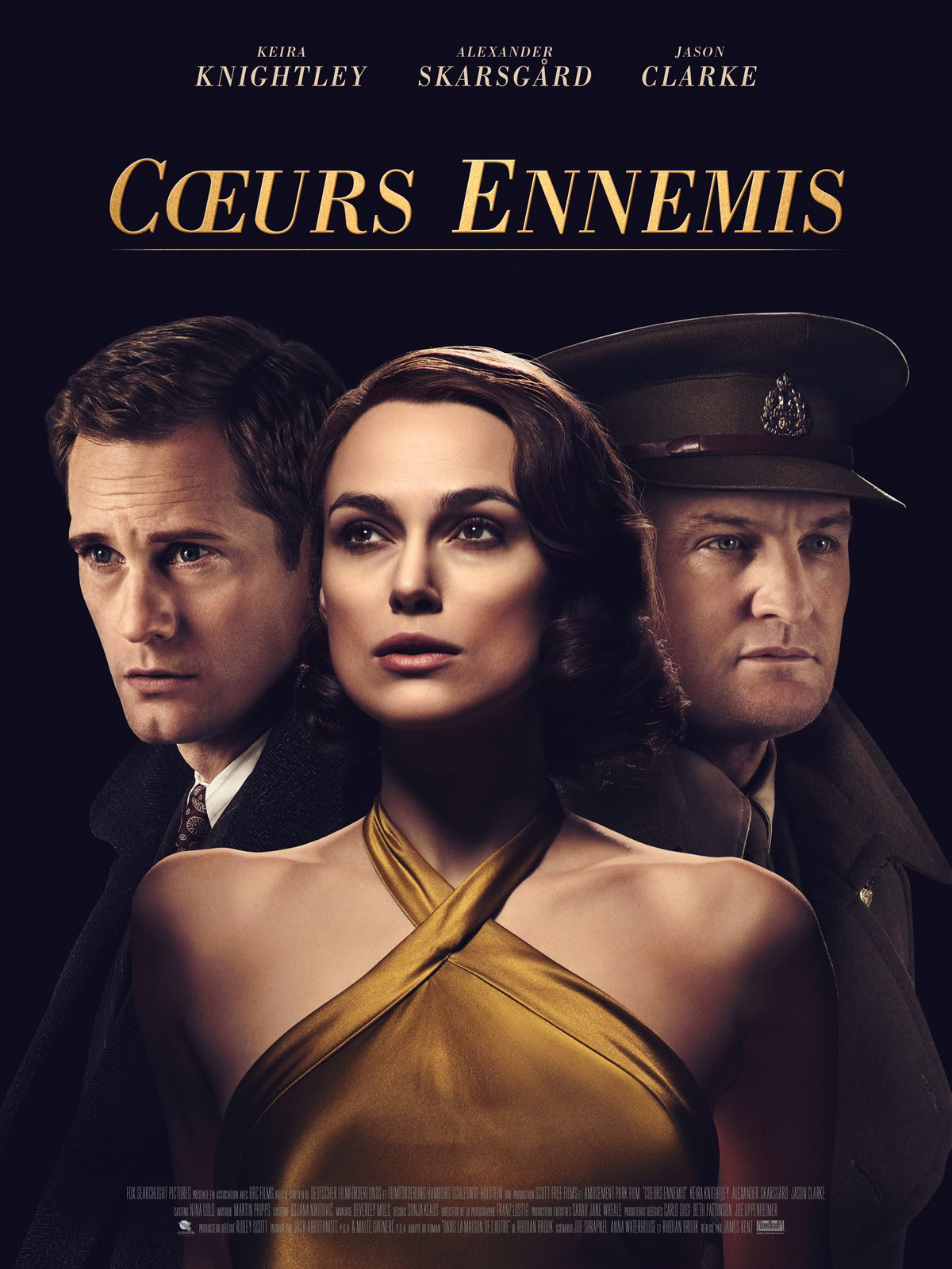 Affiche Poster coeurs ennemis aftermath disney fox