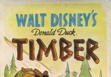 Affiche Poster donald bucheron timber disney