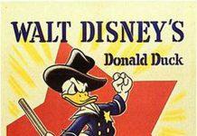 Affiche Poster donald garde champetre truant officer disney
