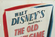 Affiche Poster facéties militaires old army game disney donald