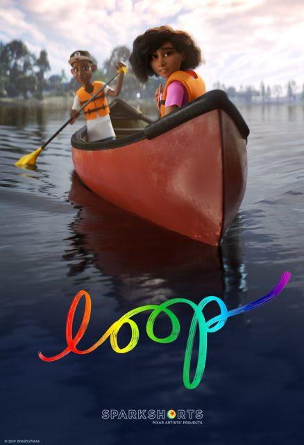 Affiche Poster Loop disney pixar