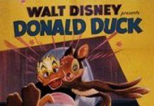 Affiche poster daddy duck papa canard donald disney