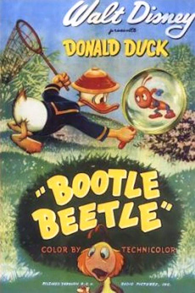 Affiche Poster pépé grillon bootle beetle disney donald