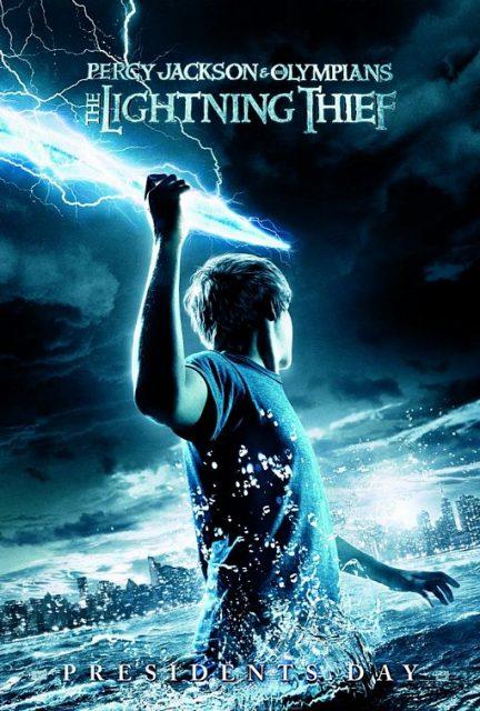 Affiche Poster percy jackson voleur foudre olympians lightning thief disney fox