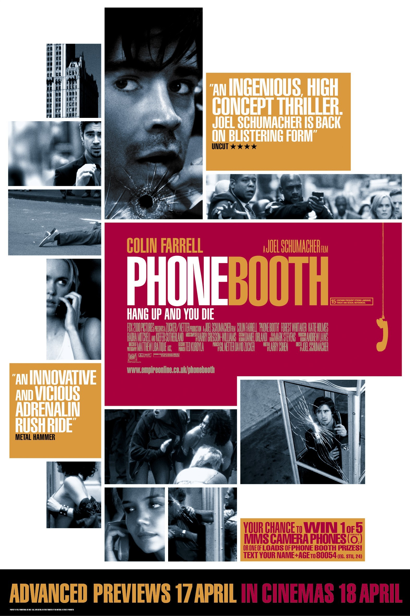 Affiche Poster phone game booth disney fox