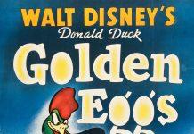 Affiche Poster poule oeufs or golden eggs donald disney
