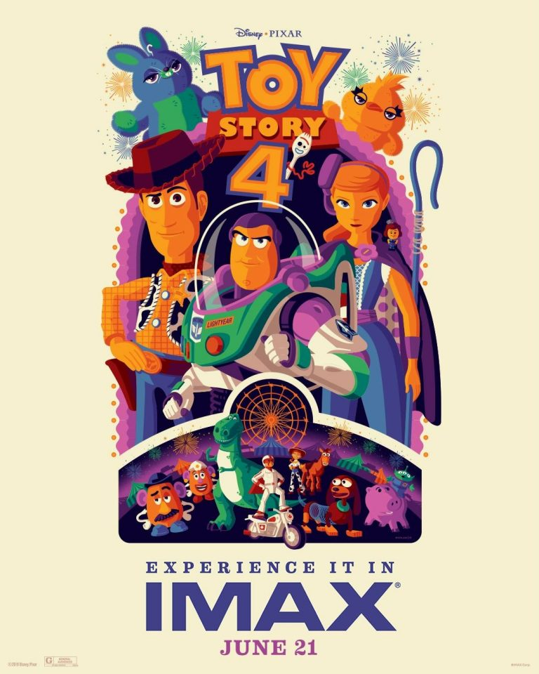 """""""Toy Story 4"""" : les affiches IMAX et Dolby Cinema."""