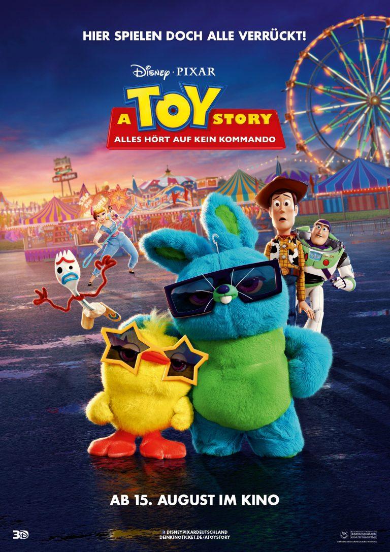 """Toy Story 4"" : l'affiche allemande."