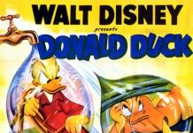 Affiche Poster tracas donald drip dippy disney