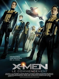 Affiche Poster x-men first class commencement disney marvel fox