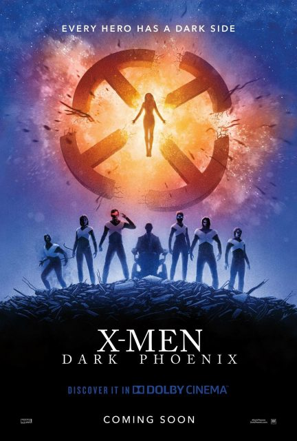 Affiche poster x-men dark phoenix disney fox marvel