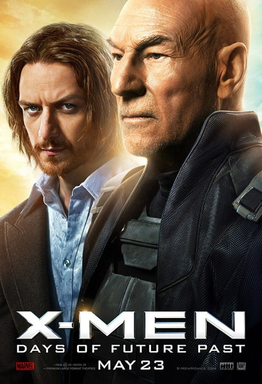 Affiche Poster x-men days future past disney fox marvel
