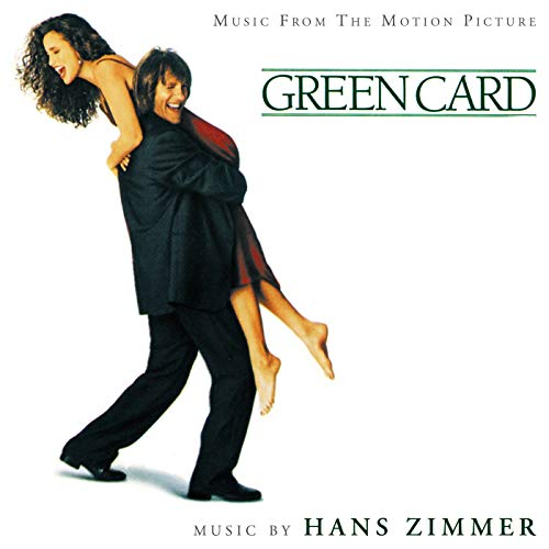 bande originale soundtrack ost score green card disney touchstone