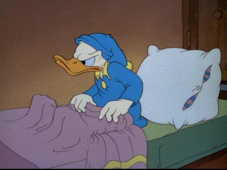 Image bonne nuit donald earl bed disney