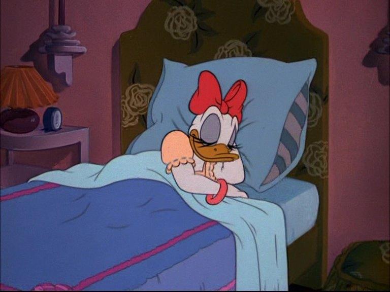 Image dodo donald sleepy time disney