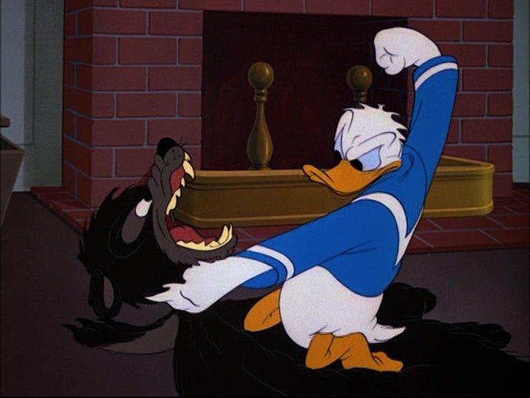 Image daddy duck papa canard donald disney