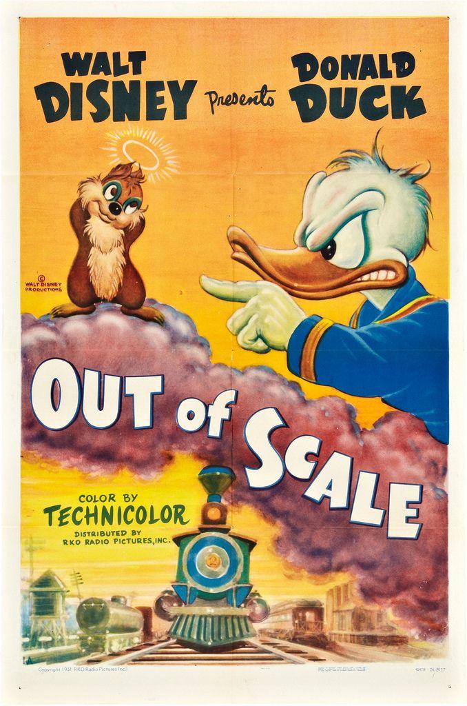 Affiche Poster bon modèle réduit out scale disney
