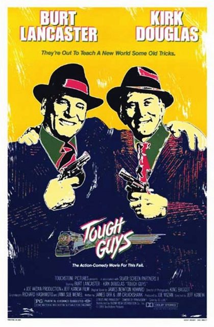 Affiche Poster coup double tough guys disney touchstone